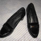 Лаковые кожаные туфли Footglove р. 38 стелька 24 см