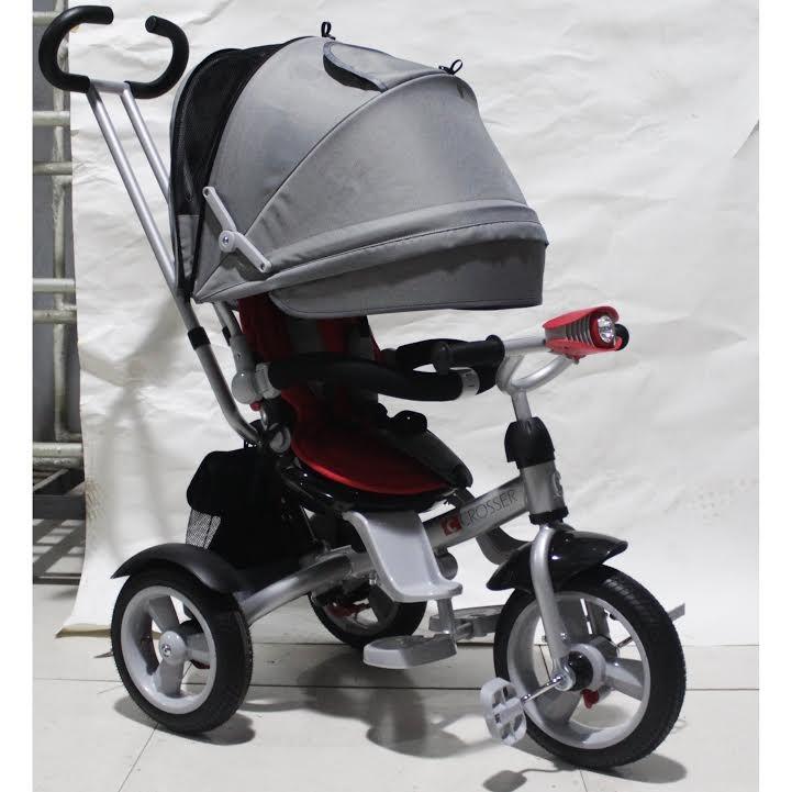 Кросер т 503 фара накачка велосипед сrosser трехколесный детский фото №1
