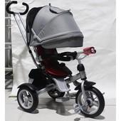 Кросер Т 503 Фара накачка велосипед Сrosser трехколесный детский