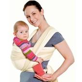 Трикотажный слинг-шарф Omali - идеальный первый слинг для новорождённого.