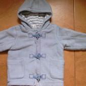 Пальто для мальчика Next 12-18 месяцев 86 см б/у