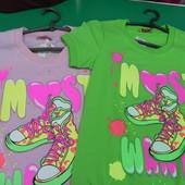 Новая футболка S, M