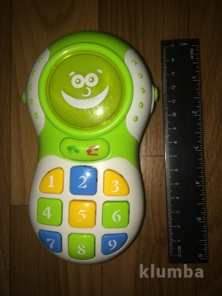Развивающий интерактивный телефон фото №1