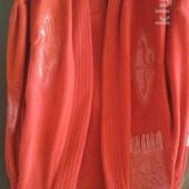 Червоний кардіган на 50-54р