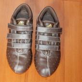 Кoжаные кроссовки Adidas 38.5