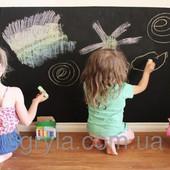 Наклейки на стену для рисования мелом. Мольберт для рисования - наклейка на стену