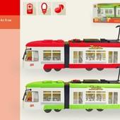 Городской трамвай инерционный