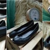 Балетки-туфли,кожа, на танкетке Vagabond,р-р 37