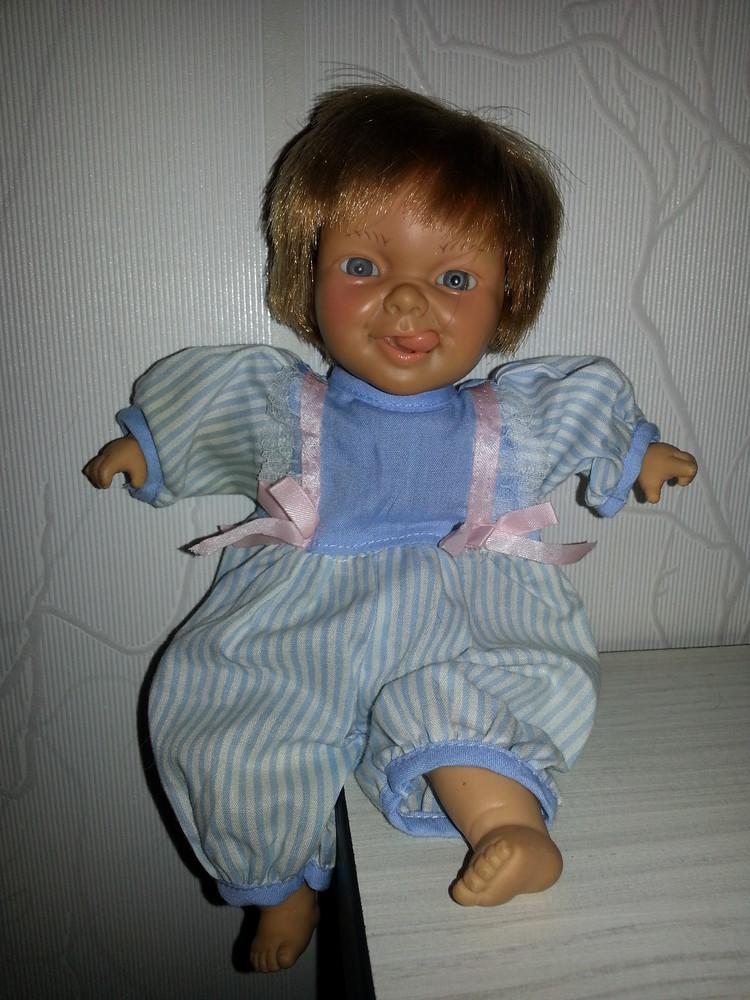 Характерная кукла,малыш - плакса. кукла виниловая характерная berenguer (испания) фото №1