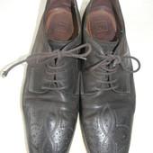 Мужские кожаные туфли Boss р.44 дл.ст 31см