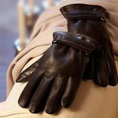 Перчатки кожа ягненка 9.5р. Tchibo Германия