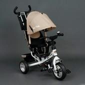 Велосипед трехколесный Best Trike 6588 пена. Новый дизайн. цена!
