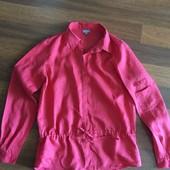 льняная блузка NafNaf