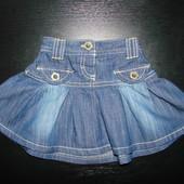 супер-стильная юбка Next 6-9 мес (можно до 12-18) состояние новой