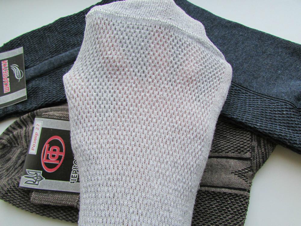 Чоловічі носки, х/б, сетка, відмінної якості. 10 пар - 65 грн. фото №6