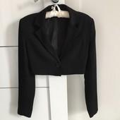 черный пиджак xs/s