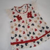 блузочка для девочки 7 лет