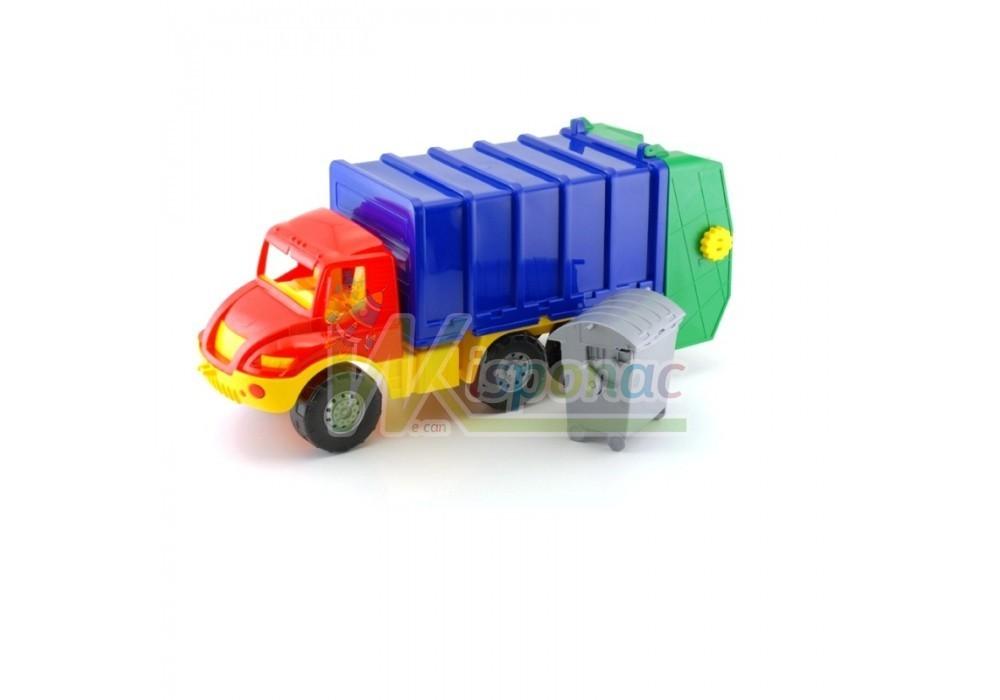 """Машина """"атлантис"""" 0633, мусоровоз, 59х25х20 см фото №1"""