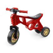 Беговел мотоцикл 2 трехколесный красный Орион 171 велобег пластиковый