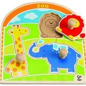 Первые вкладыши «В зоопарке», Hape Артикул: E1302