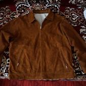 Кожаная лёгкая куртка Trapper(Германия)