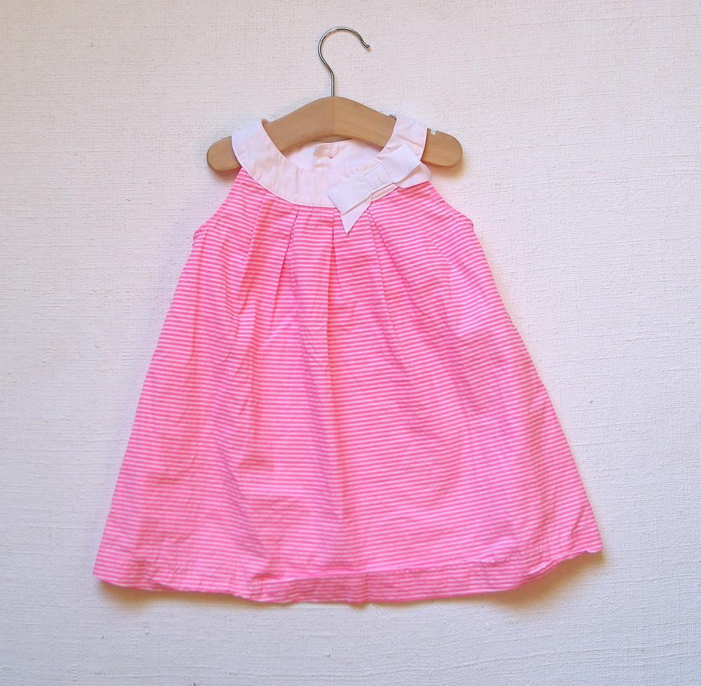 e4656c9dbdb Бронь! яркое летнее платье carter s в полоску для девочки 18 мес фото №1