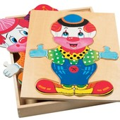 Набор «Гардероб для клоуна», Bino Артикул: 88001