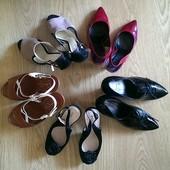 Женские туфли, босоножки, 39-40 размер