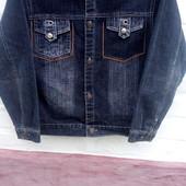 Пиджак джинсовый,на подростка,состояние новое.