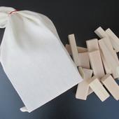 Деревянная игра Дженга (джанга, вежа) в мешке