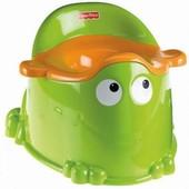 """Детский горшок Fisher-Price """"Лягушонок"""" - поможет малышу быстрее приучиться к туалету. Горшочек очен"""