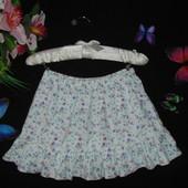 Лёгкая юбка M&S 3-4г(98-104см)Мега выбор обуви и одежды