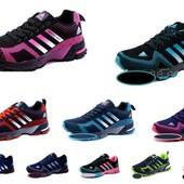 Кроссовки Adidas Marathon, 12 цветов, р. 36-41 код kv-2418