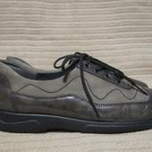 Великолепные комбинированные кожаные туфельки оксфорды Dansko. США. 37