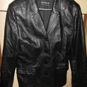 Пиджак (куртка) из кож. заменителя