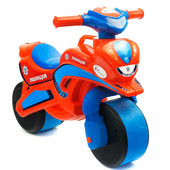 Байк Полиция Мотоцикл оранжево-синий 0139/540 беговел Долони