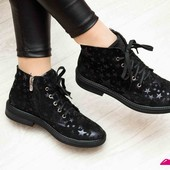 Замшевые,кожаные ботинки на шнуровке осень-зима(F-1),р-ры 36-40,любой цвет!