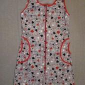 Халаты женские Трикотаж Распродажа 40-42,54,60размер