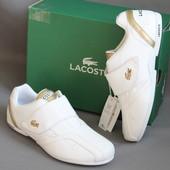 Кроссовки фирма Lacoste (Лакосте), европейский размер-37, по стельке-24 см