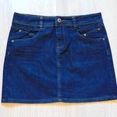 Стильная джинсовая юбка для девушки. NafNaf. Размер 36 (s-m). Состояние: новой вещи