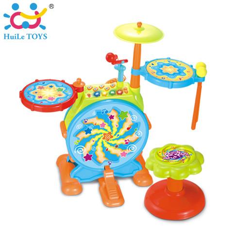 Игрушка huile toys джазовый барабан фото №1