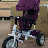 Велосипед трехколесный Tilly Trike T-371 на бескамерном колесе