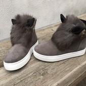Зимние ботиночки Ушки