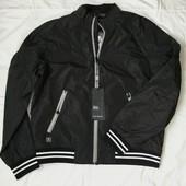 Мужская брендовая легкая куртка, ветровка Tiger force (5583), р-ры XS-L