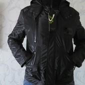 Стильная молодежная утепленная куртка на весну-осень  Villicana, р-ры 50, 52