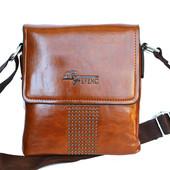 Мужская стильная удобная сумка через плечо (Е-541)