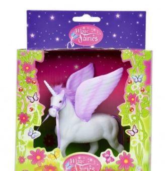 Единорог с крыльями  11 см. сиреневый розовый от simba конь лошадь конячка фото №1