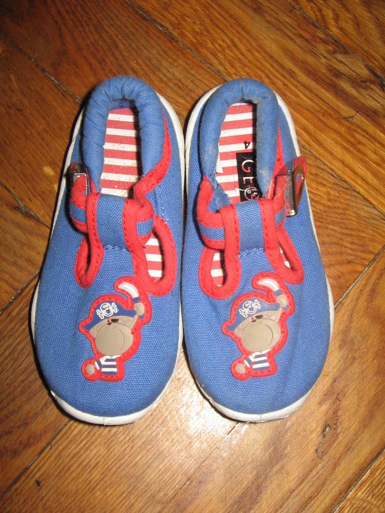 Тапочки туфли туфлі балетки george 20 - 21 р. (стелька 13,2 см, uk 4) фото №1