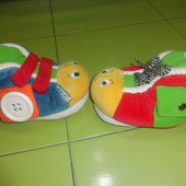 Развивающие тапочки K's Kids-игрушка.