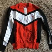 Кофта спортивная мужская Ferrari  XL размер. 100% cotton.